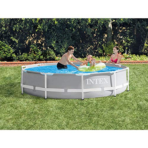 Best Intex Pool Reviews - Intex Prism Frame 10 feet x 30 inches Pool Set with Filter & Pump