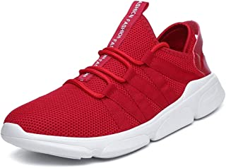 ZUAN Acrobatic Shoes for Men Sports Shoes Lace Up Style Mesh Material Individual Sewing Beat Toe
