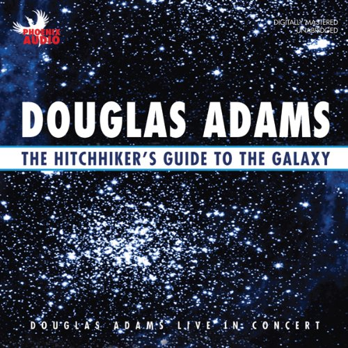 The Hitchhiker's Guide to the Galaxy: Live in Concert                   Written by:                                                                                                                                 Douglas Adams                               Narrated by:                                                                                                                                 Douglas Adams                      Length: 1 hr and 13 mins     Not rated yet     Overall 0.0