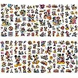 Autocollants Mickey - YUESEN 100 pièces autocollants Mickey Mouse Albums Graffiti ordinateur portable planche à roulettes bagages stockage vélo enfants bricolage décalcomanie autocollants
