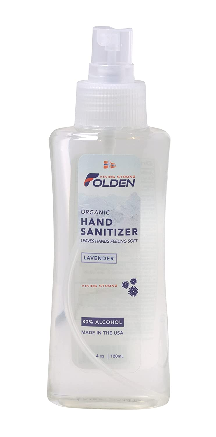 Folden Oakland Mall Organic Lavender Hand Popularity Sanitizer made 80% Alcohol Mo with