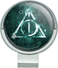 GRAPHICS & MORE Harry Potter Deathly Hallows Logo Golf Hat Clip with Magnetic Ball Marker