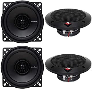 "Rockford Fosgate R14X2 4"" 120 Watts 2-Way Full Range Car Audio Speakers"