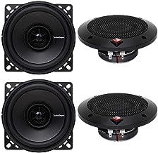 "Rockford Fosgate R14X2 4"" 120 Watts 2-Way Full Range Car Audio Speakers photo"