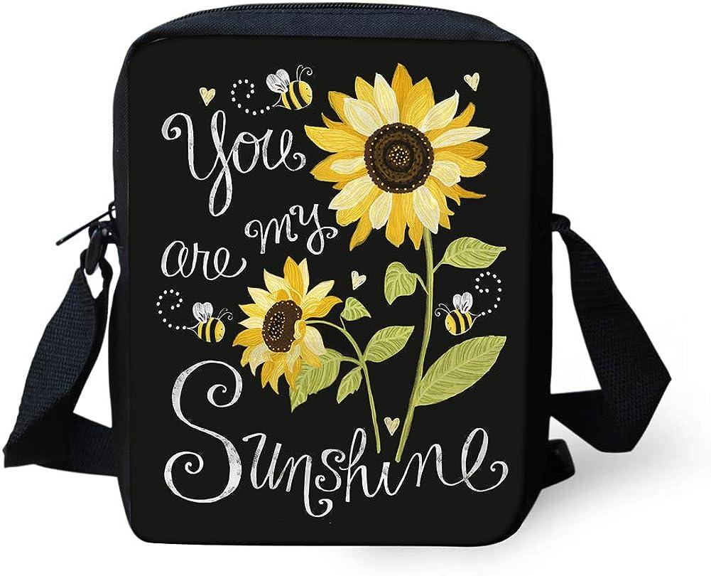Belidome Sunflower Casual Cute Messenger Crossbody Bombing new work Baltimore Mall Bag Sho Small