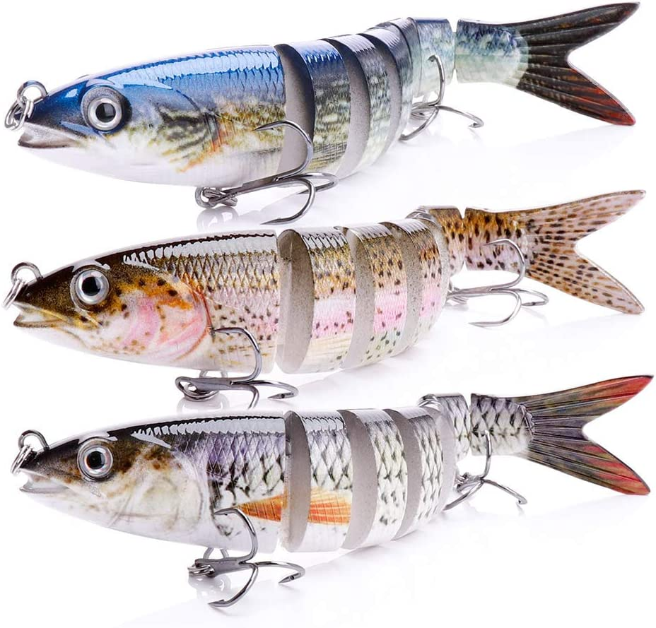 VTAVTA Bass Fishing Lures Fish Swimbait Baits Multi-Jointe 2021 new Trout Sale SALE% OFF