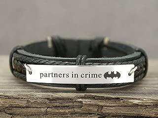 partners in crime batman bracelet