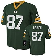 Outerstuff Jordy Nelson Green Bay Packers #87 NFL Youth Mid-Tier Jersey Green