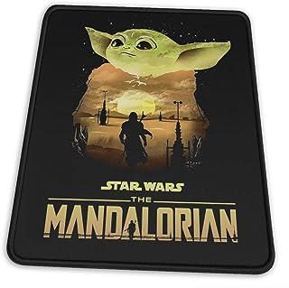 185 Alfombrilla De Teclado,Alfombrilla De Ratón Star W Man-Dalorian The Child Baby Yoda, Alfombrilla De Ratón Personalizad...