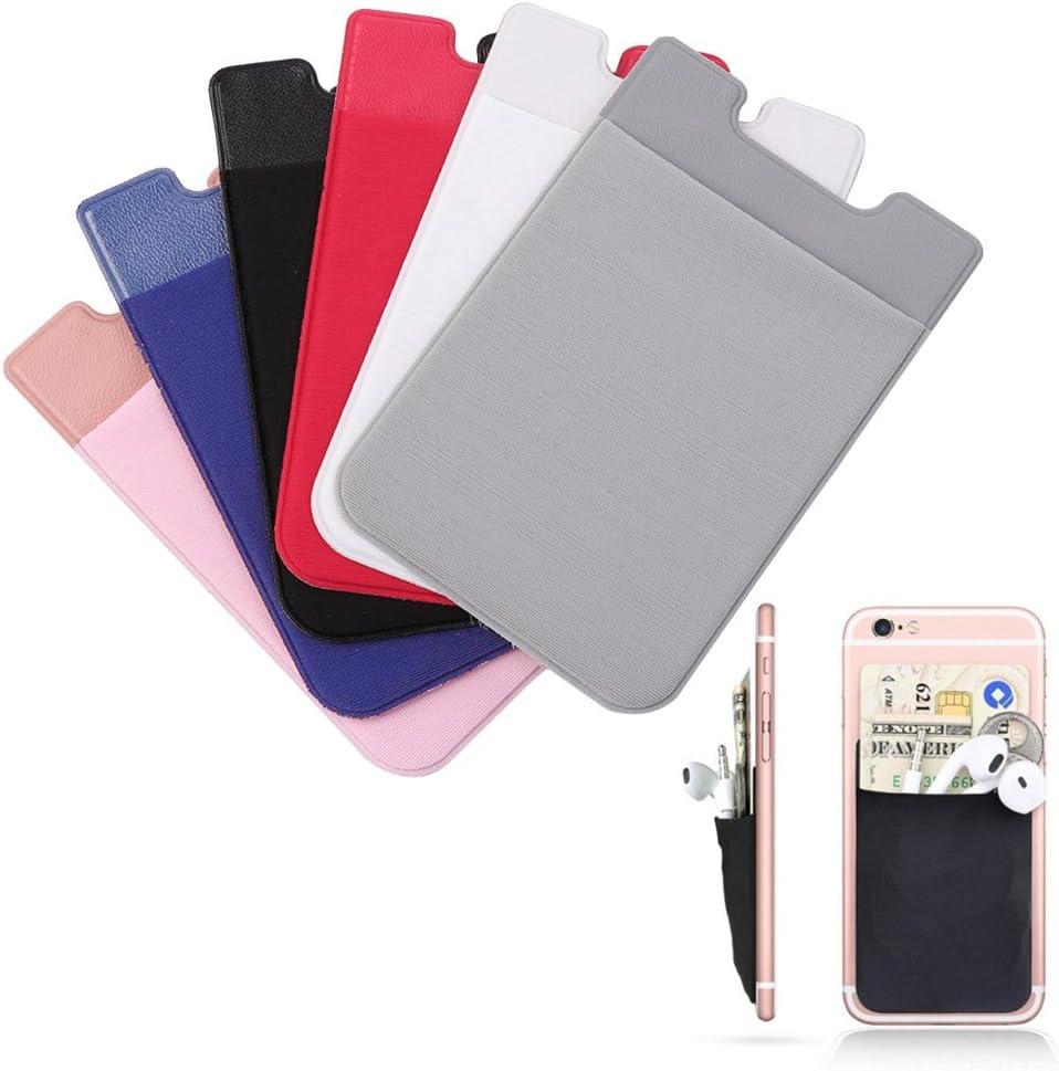 Adhesive Sticker Mobile Phone Back Cards Wallet Credit ID Card Holder Pocket