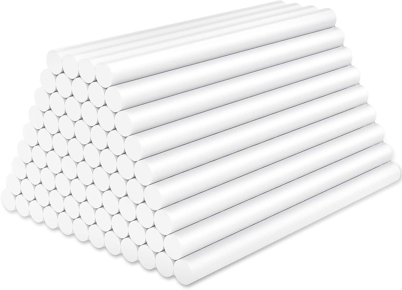 White Hot Glue Sticks Mini Enpoint Las Vegas Mall 72 3.93 in pcs x 2021 autumn and winter new Me 0.27