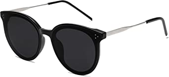 SOJOS Trendy Round Sunglasses for Women Cute Fashion Sun Glasses DOLPHIN SJ2068