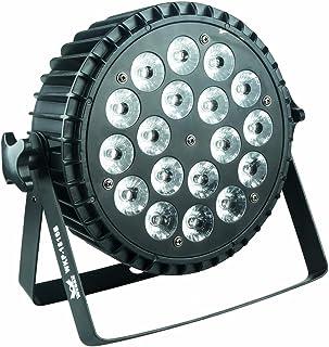LED Par Light, 18x15w a todo color 6IN1 RGBWA + UV, uso para discoteca, salón de baile, KTV, bar, club, fiesta, boda