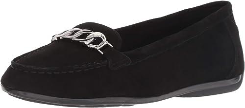 Easy Spirit damen& 039;s ANTIRIA Driving Style Loafer, schwarz, 6.5 M US