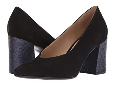 Naturalizer Hope (Black Suede) High Heels