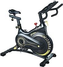 Bling Exercise Bike Cycling Bike Cardio Workout W/Belt Driven Flywheel Cycling Adjustable Handlebars Seat Resistance Digit...