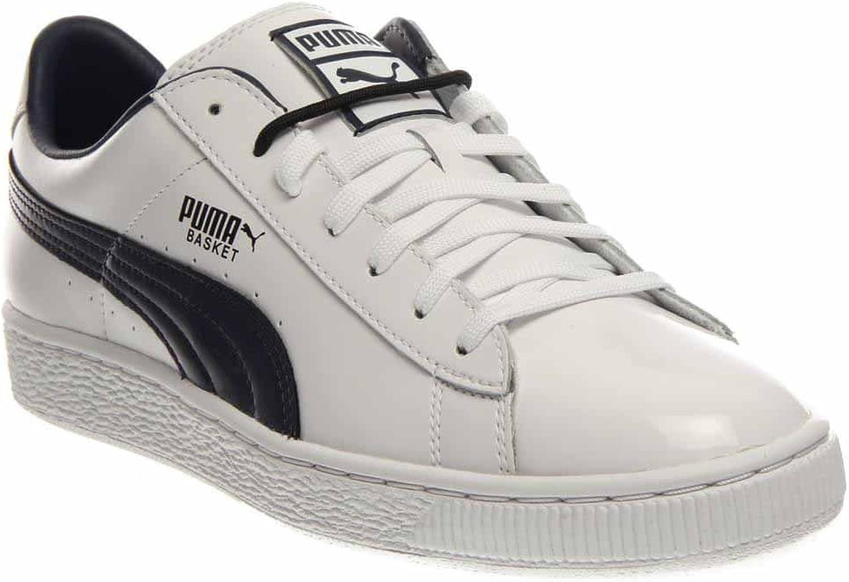 Puma Basket Classic Women US 10.5 D White Sneakers UK 9.5 EU 44