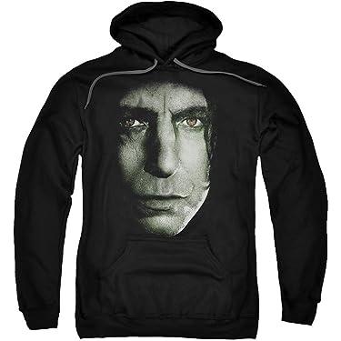 Harry Potter Snape Head Licensed Adult Sweatshirt Hoodie