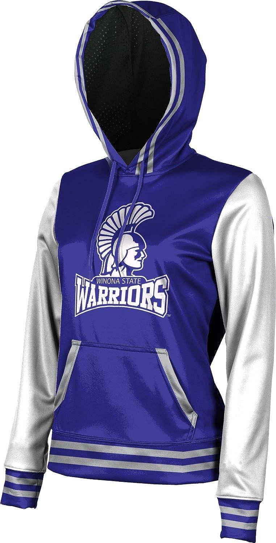 ProSphere Winona State University Girls' Pullover Hoodie, School Spirit Sweatshirt (Letterman)
