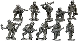 Warfighter WWII Expansion 16: Germany Metal Soldier Minis