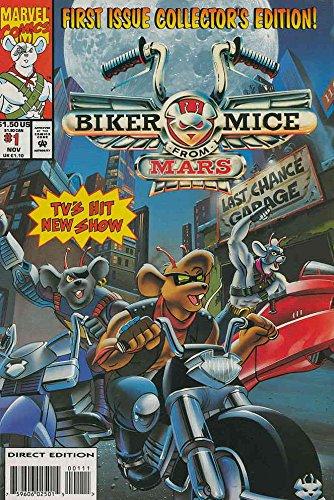 Biker Mice from Mars #1 VF/NM ; Marvel comic book