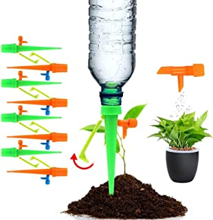 Plant Watering Devices, 8 PCS Self Watering Spikes System, Upgraded Automatic Plant Waterer, Plant Spikes System, Irrigati...