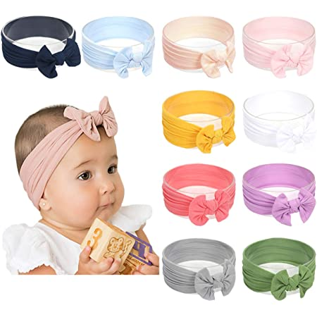 headwrap ONE size FITS ALL Christmas Hair Bows Baby girl nylon headbands Christmas baby headbands Nylon Baby Headband Newborn headbands