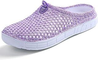BIGU Garden Clogs Shoes Walking Sandals Quick Dry Non-Slip Floor Bath Slippers