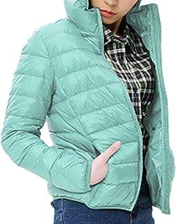 ZiXing Women Lightweight Winter Slim Padded Packable Down Jacket Outwear Warm Coat