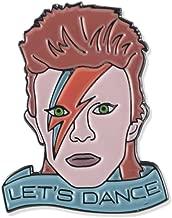 Wizard Pins David Bowie Let's Dance Tribute Enamel Lapel Pin