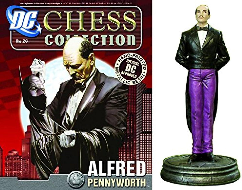 Figuren des Schachspiels Harz DC Comics Chess Collection No 26 Alfred Pennyworth