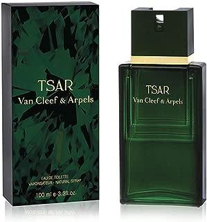 Van Cleef & Arpels Tsar Eau de Toilette Spray for Men, 3.3 Fluid Ounce