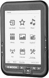 SoarUp 【6インチ画面】電子書籍、電子書籍、低消費電力化の言語の可能な使用読みやすい電子インク画面29長い待ち時間4G / 8G 16G(ブラック・8G) ブラック・8G