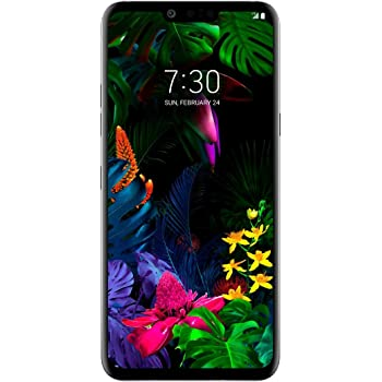 LG G8 ThinQ 128GB Smartphone GSM+CDMA Factory Unlocked All Carriers (ATT, Verizon, Sprint and Tmobile) - Black (US Warranty)
