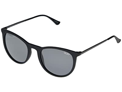 QUAY AUSTRALIA Great Escape (Matte Black/Smoke) Fashion Sunglasses