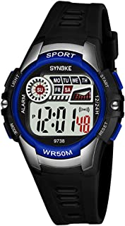 Digital Sports Watch for Kids, Multi-Functions Waterproof Outdoor and Indoor Watch for Boys and Girls