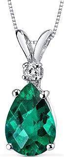 Peora 14K Gold Pendant for Women with Diamond, Elegant...