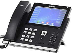$124 » Yealink SIP-T48G Gbit VoIP Phone Ultra-Elegant Touchscreen (Renewed)