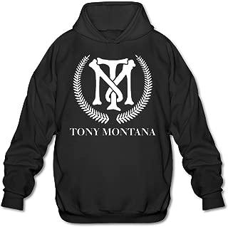 Men's Scarface Tony Montana Sweatshirt Black