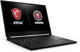 """MSI Gs65ステルスシン051 15.6"""" 144Hz 7MS超薄型ベゼル4.9MmゲーミングノートPC GTX 1060 6G I7-8750H(6つのコア)16ギガ256GB SsdをRgbのKB Vrの準備ができて、金属シャーシ、ブラ..."""