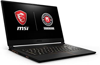 """MSI GS65 Stealth15.6"""" 144Hz 7ms Ultra Thin 4.9mm Bezel Gaming Laptop, GTX 1070 8G, i7-8750H (6 Cores) 16GB DDR4, 256GB SSD..."""