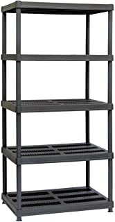 Sandusky Lee PS362472-5B Plastic Shelving, 36