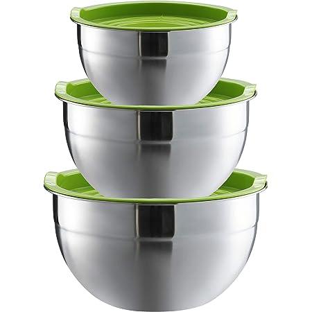 Küchenutensilien Edelstahlschüssel Rührschüssel Salatschüssel