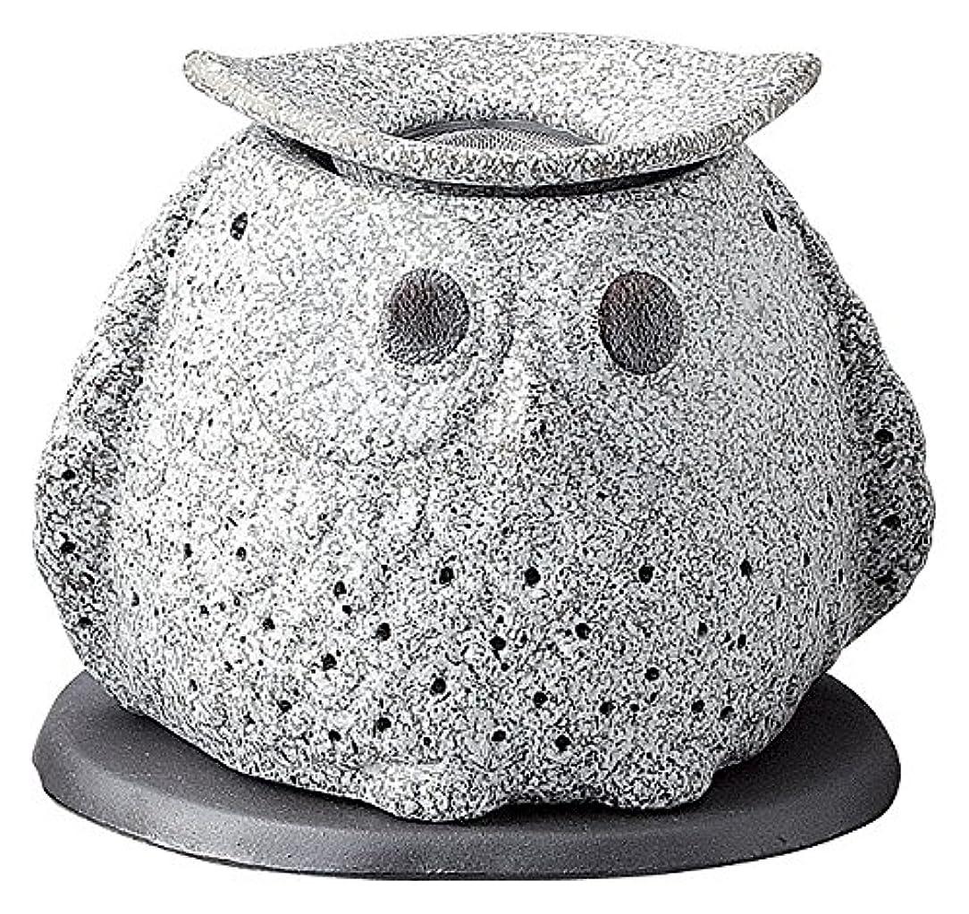 お茶祝福する浴日本セラミックTokoname ware。CHAKORO。Tealeaf Incense Holder。