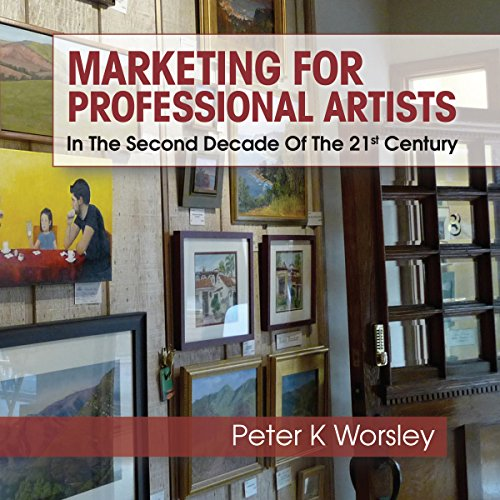 Marketing for Professional Artists audiobook cover art