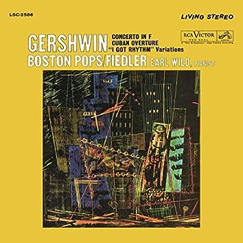 "Gershwin: Concerto in F, Variations on ""I Got Rhythm"" & Cuban Overture"