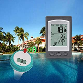 UROON Wireless Pool Thermometer – Digital Floating Pool and Spa Thermometer