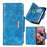 MINGYOUNG Étui portefeuille en cuir compatible avec Motorola Moto G9/G9 Play/Moto E7 Plus, motif...