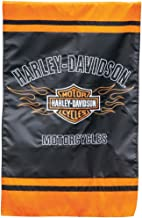 Harley-Davidson Bar and Shield Flames House Flag