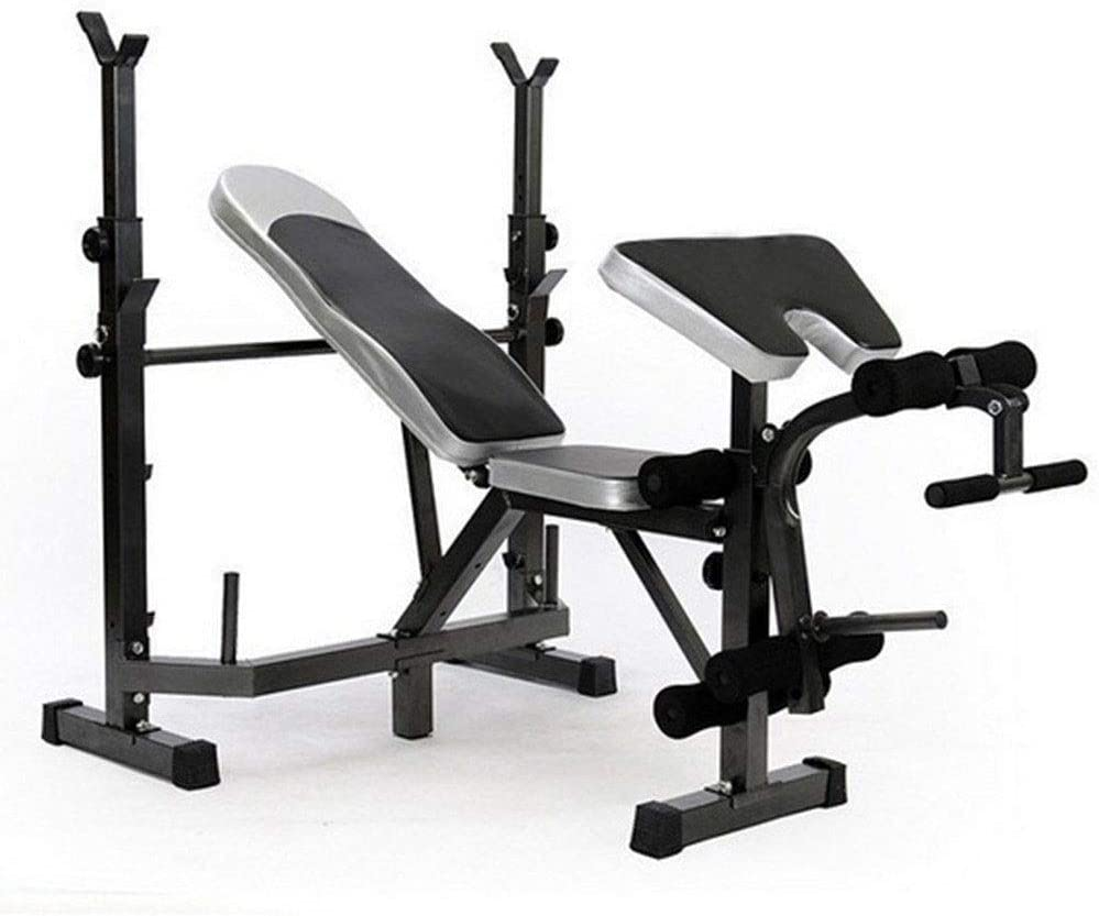 ZLGE Multifunctional Weightlifting Barbell Great interest rackSquat Rack New product type Bench